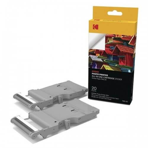 Cartucho 20 Hojas C/sticker - Impresora Kodak Mini Printer