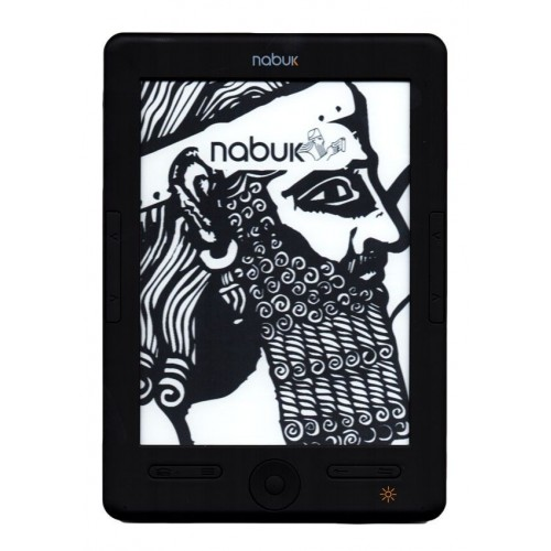 eReader Nabuk Lux 3 - Lector de libros + 1000 libros gratis