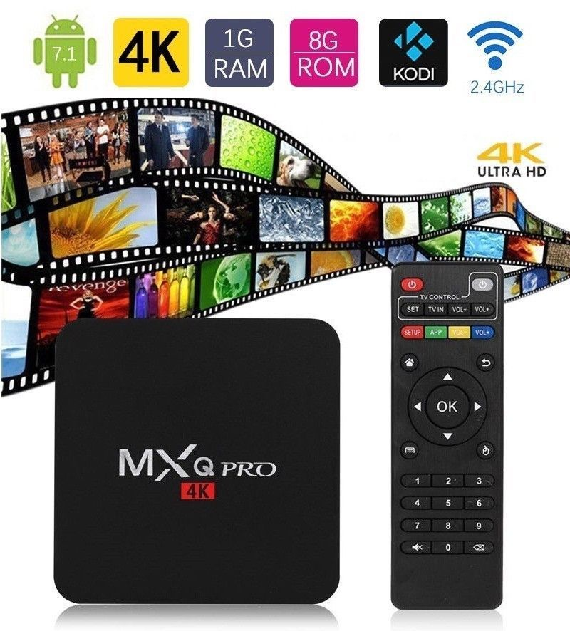 mxq pro 4k android 7